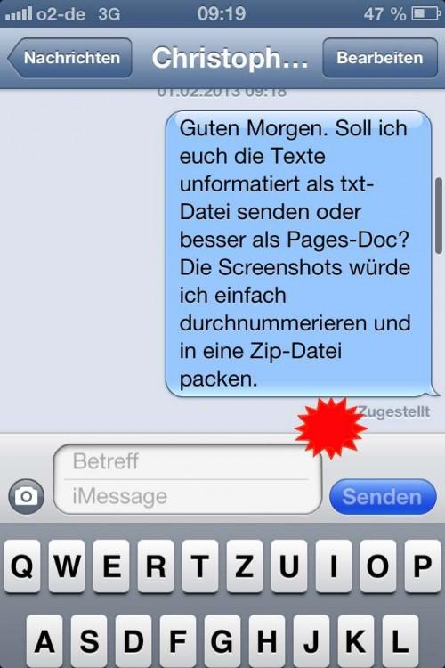 Pinsh-iOS-Nachrichten-Tastatur