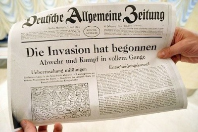 Entdeckt: Biathlon-WM 2011 und eine Zeitung aus dem Dritten Reich